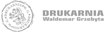 Logo - Drukarnia Grzebyta